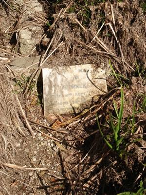 Picture of Ormond cemetery, block ORM1, plot 110.