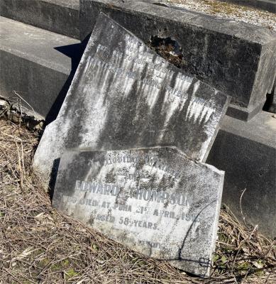 Picture of Ormond cemetery, block ORM1, plot 121.