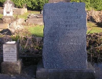 Picture of Ormond cemetery, block ORM1, plot 123.