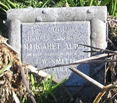 Picture of Ormond cemetery, block ORM1, plot 18.