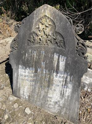 Picture of Ormond cemetery, block ORM1, plot 21.