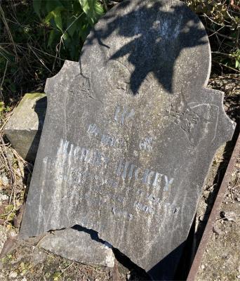 Picture of Ormond cemetery, block ORM1, plot 26.