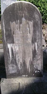 Picture of Ormond cemetery, block ORM1, plot 36.