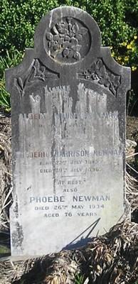 Picture of Ormond cemetery, block ORM1, plot 42.
