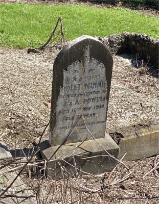 Picture of Ormond cemetery, block ORM1, plot 56.