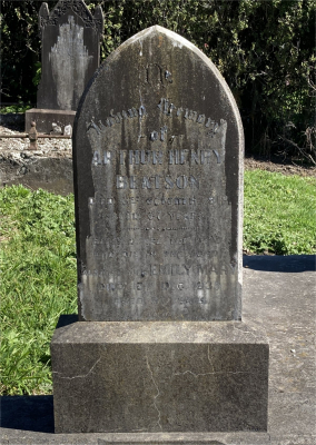 Picture of Ormond cemetery, block ORM1, plot 59.