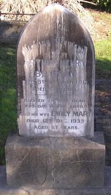 Picture of Ormond cemetery, block ORM1, plot 60.