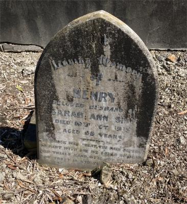 Picture of Ormond cemetery, block ORM1, plot 61.