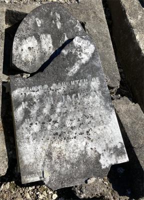 Picture of Ormond cemetery, block ORM1, plot 65.