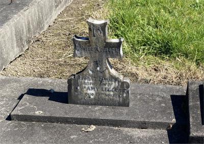 Picture of Ormond cemetery, block ORM1, plot 75.