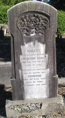 Picture of Ormond cemetery, block ORM1, plot 85.