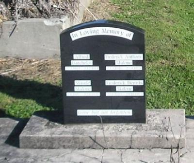 Picture of Ormond cemetery, block ORM1, plot 90.