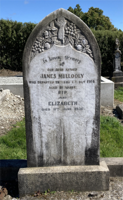 Picture of Ormond cemetery, block ORM1, plot 93.