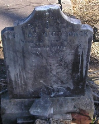 Picture of Ormond cemetery, block ORM1, plot 99.
