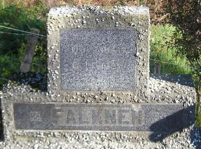 Picture of Ormond cemetery, block ORM2, plot 12.