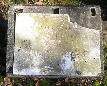 Picture of Ormond cemetery, block ORM2, plot 17.