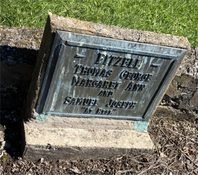 Picture of Ormond cemetery, block ORM2, plot 31.