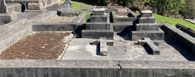 Picture of Ormond cemetery, block ORM2, plot 70.