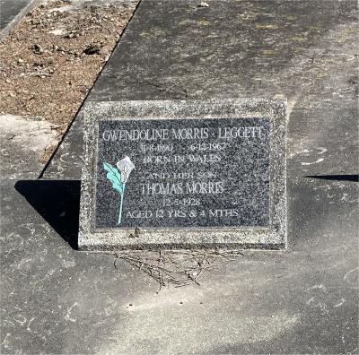 Picture of Ormond cemetery, block ORM2, plot 76.