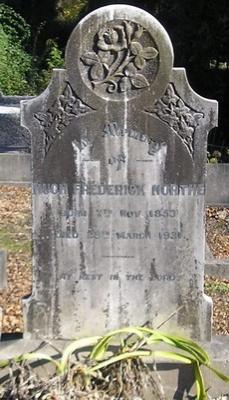 Picture of Ormond cemetery, block ORM2, plot 77.