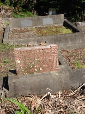 Picture of Ormond cemetery, block ORM2, plot 78.