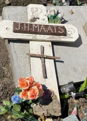 Picture of Ormond cemetery, block ORM3, plot 105.