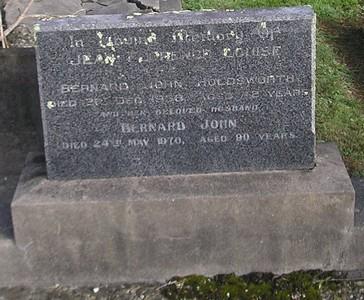 Picture of Ormond cemetery, block ORM3, plot 17.