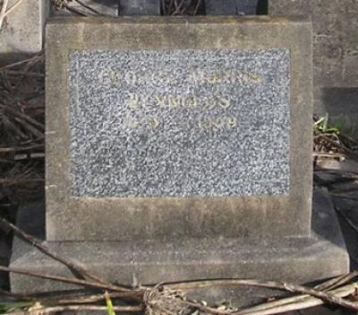 Picture of Ormond cemetery, block ORM3, plot 23.