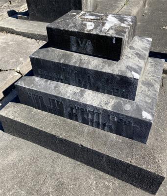 Picture of Ormond cemetery, block ORM3, plot 24.
