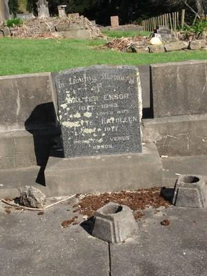 Picture of Ormond cemetery, block ORM3, plot 29.