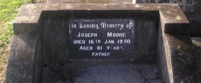 Picture of Ormond cemetery, block ORM3, plot 44.