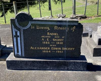 Picture of Ormond cemetery, block ORM3, plot 45.