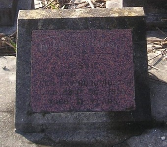 Picture of Ormond cemetery, block ORM3, plot 47.