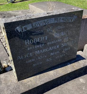 Picture of Ormond cemetery, block ORM3, plot 50.