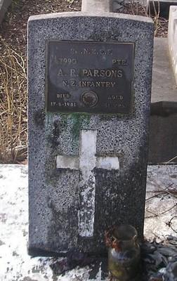 Picture of Ormond cemetery, block ORM3, plot 60.
