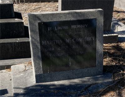 Picture of Ormond cemetery, block ORM3, plot 61.