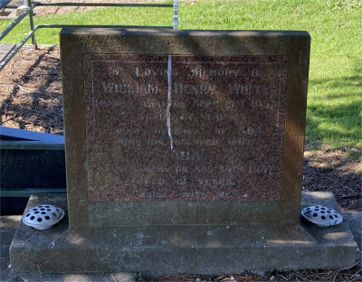 Picture of Ormond cemetery, block ORM3, plot 64.
