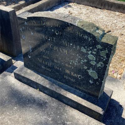 Picture of Ormond cemetery, block ORM3, plot 74.