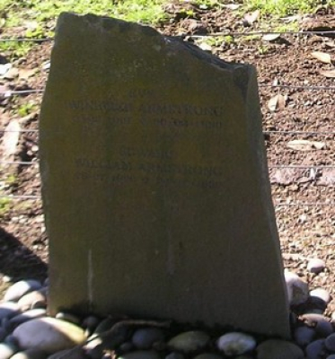 Picture of Ormond cemetery, block ORM3, plot 90.