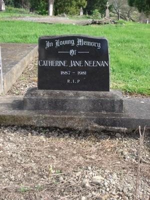 Picture of Ormond cemetery, block ORM4, plot 13.