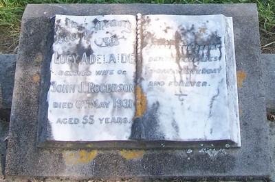 Picture of Patutahi cemetery, block PATF, plot 45.