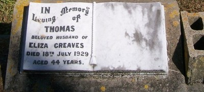 Picture of Patutahi cemetery, block PATF, plot 70.