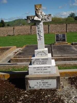 Picture of Patutahi cemetery, block PATG, plot 17.