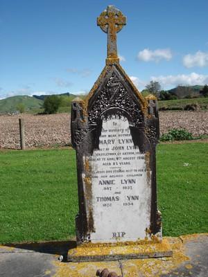 Picture of Patutahi cemetery, block PATG, plot 2.