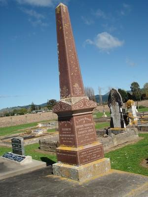 Picture of Patutahi cemetery, block PATG, plot 51.