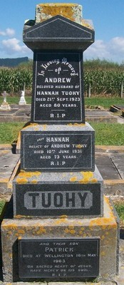 Picture of Patutahi cemetery, block PATG, plot 58.