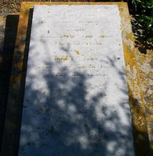 Picture of Patutahi cemetery, block PATH, plot 13.