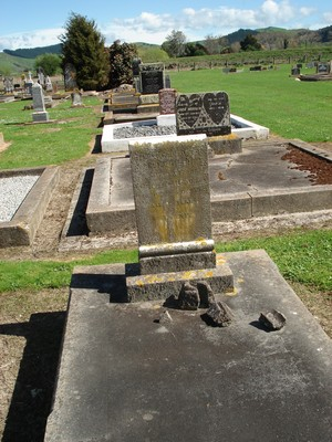 Picture of Patutahi cemetery, block PATI, plot 26A.