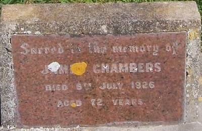 Picture of Patutahi cemetery, block PATI, plot 64.