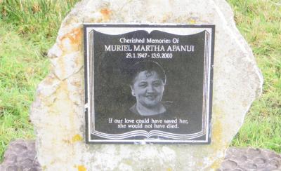Picture of Rakauroa cemetery, block RAK4, plot 1.